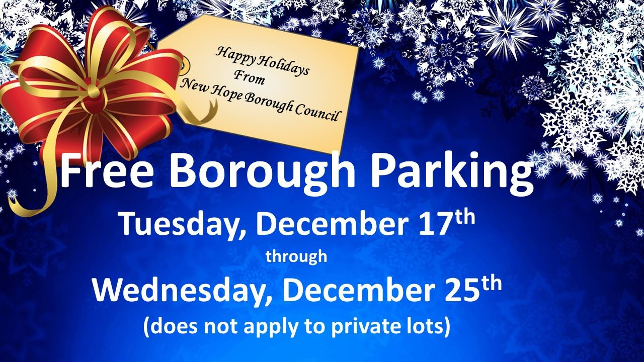 2019 Holiday Parking